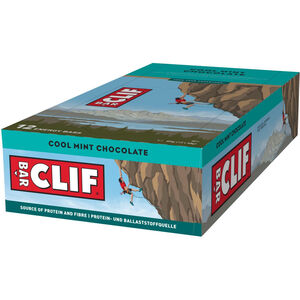 CLIF Bar Energy Riegel Box 12x68g Schoko-Minze