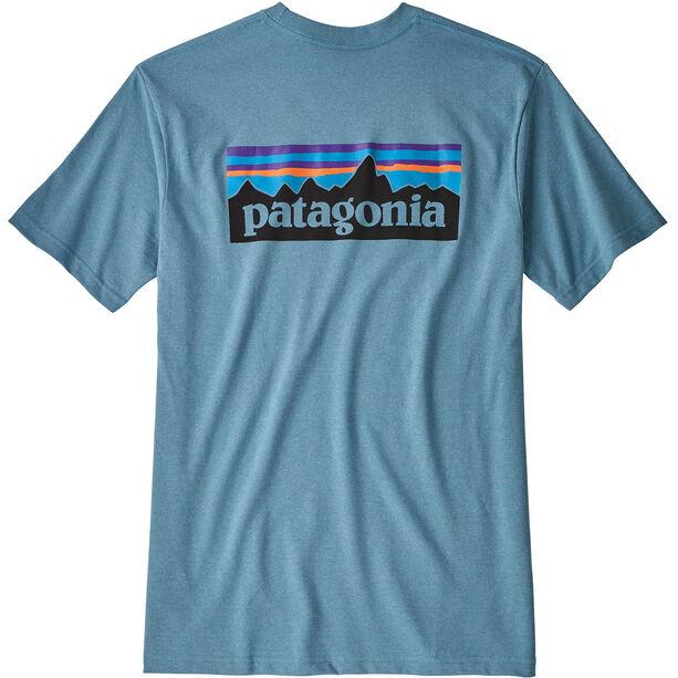 Patagonia P-6 Logo Responsibili-Tee Herren mako blue