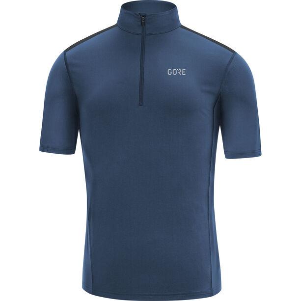 GORE WEAR R5 Zip Shirt Herren deep water blue