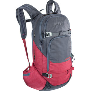 EVOC Line R.A.S. Backpack 20l heather carbon grey-heather ruby heather carbon grey-heather ruby