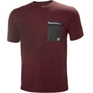 Helly Hansen Lomma T-Shirt Herren oxblood oxblood
