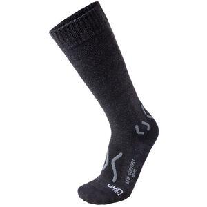 UYN Trekking Expl**** Support Socks Herren black melange/anthracite black melange/anthracite