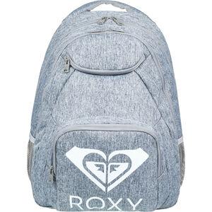 Roxy Shadow Swell Solid Logo Backpack heritage heather heritage heather