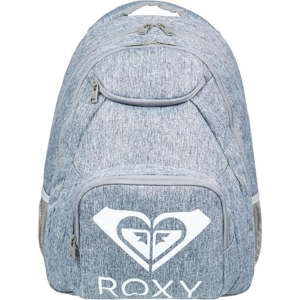 Roxy Shadow Swell Solid Logo Backpack heritage heather