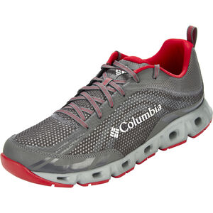 Columbia Drainmaker IV Shoes Herren city grey/mountain red city grey/mountain red