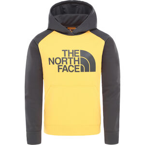 The North Face Surgent Kapuzenpullover Jungs tnf yellow/asphalt grey tnf yellow/asphalt grey