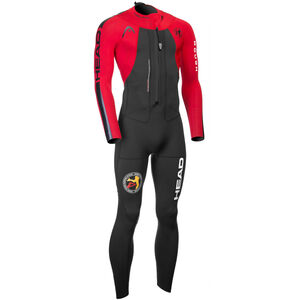 Head ÖTILLÖ Swimrun Rough Suit Herren black/red black/red