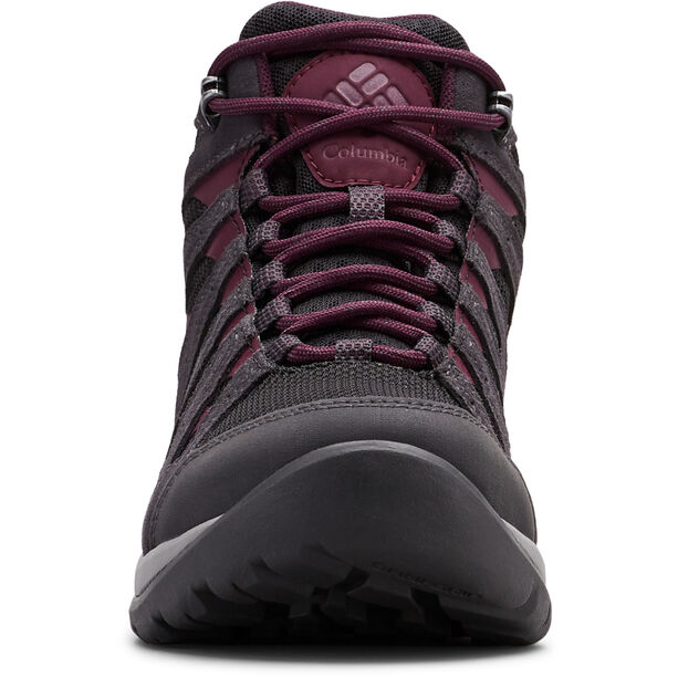 Columbia Redmond V2 WP Mid-Cut Schuhe Damen black/black cherry
