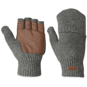 Outdoor Research Lost Coast Mitts Herren pewter pewter