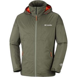 Columbia Inner Limits Jacket Herren peatmoss/backcountry orange peatmoss/backcountry orange