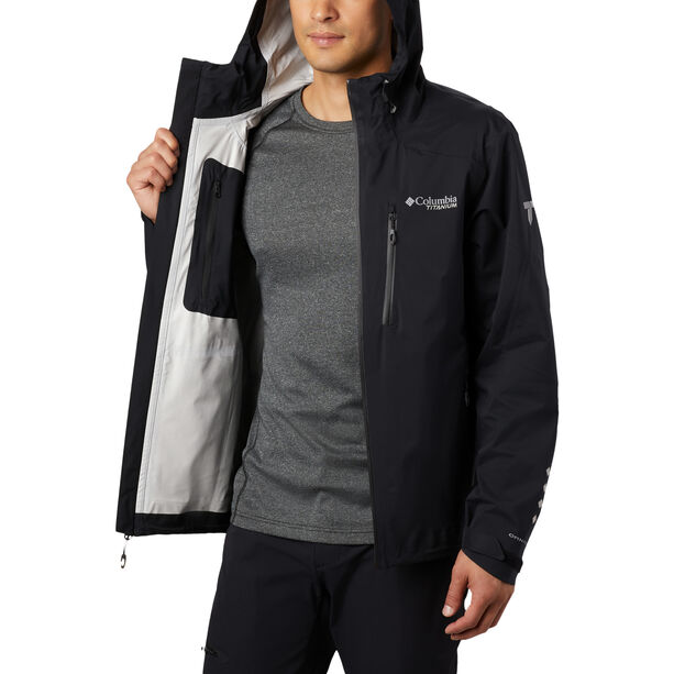Columbia Titan Pass 2.5L Shell Jacke Herren black