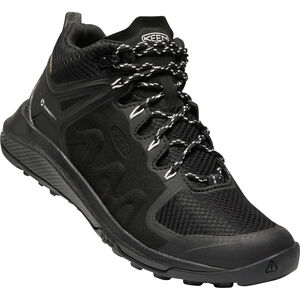 Keen Exp*** Mid WP Schuhe Damen black/star white black/star white