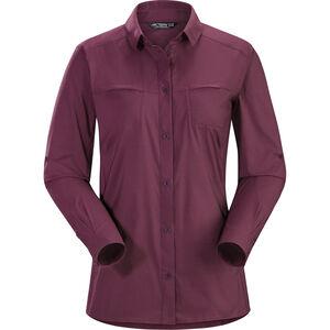 Arc'teryx Fernie LS Shirt Damen purple reign purple reign