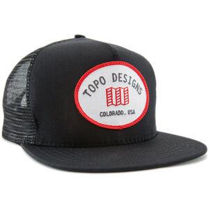 Topo Designs Snapback Mütze black black