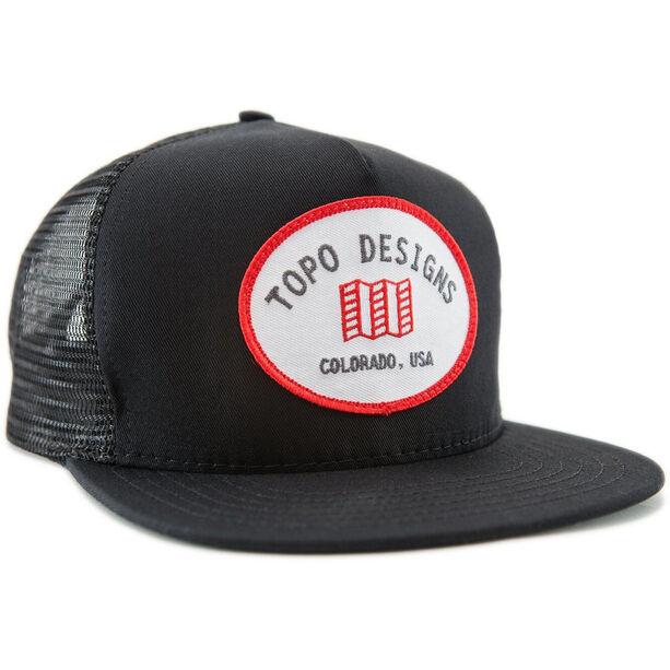 Topo Designs Snapback Mütze black