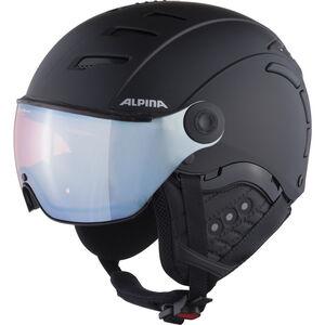Alpina Jump 2.0 QVMM Ski Helmet black matt silver black matt silver