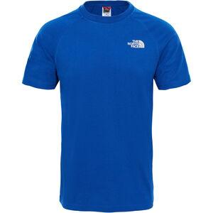 The North Face Big Wall Kurzarm T-Shirt Herren brit blue brit blue