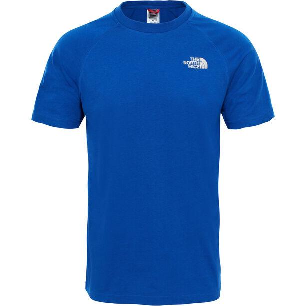 The North Face Big Wall Kurzarm T-Shirt Herren brit blue