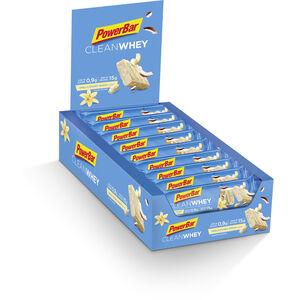 PowerBar Clean Whey Riegel Box 18x45g Vanilla Coconut Crunch