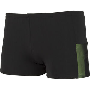 speedo Mesh Panel Aquashorts Herren black/green black/green