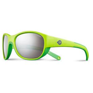 Julbo Luky Spectron 3+ Sunglasses 4-6Y Kinder green/green-gray flash silver