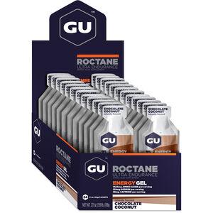 GU Energy Roctane Energy Gel Box 24x32g Chocolate Coconut