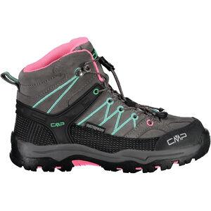 CMP Campagnolo Rigel Mid WP Trekking Shoes Kinder graffite/aqua mint graffite/aqua mint