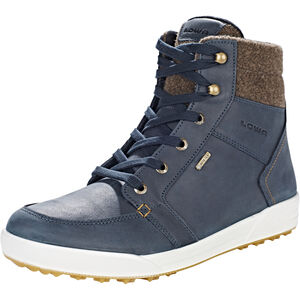 Lowa Molveno GTX Mid-Cut Stiefel Herren navy/brown navy/brown