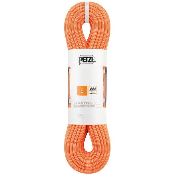 Petzl Volta Guide Seil 9,0 mm x 30 m orange