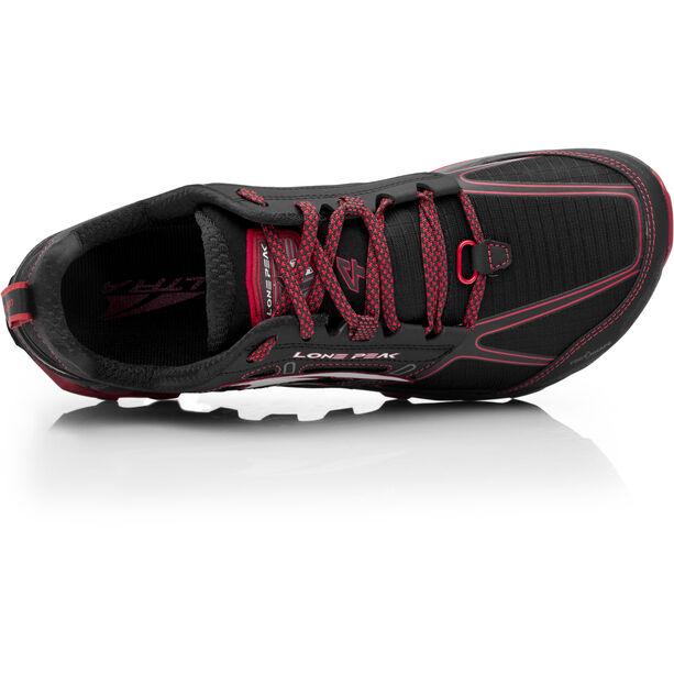 Altra Lone Peak 4 Laufschuhe Herren black/red