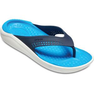 Crocs LiteRide Flip Sandals navy/white navy/white