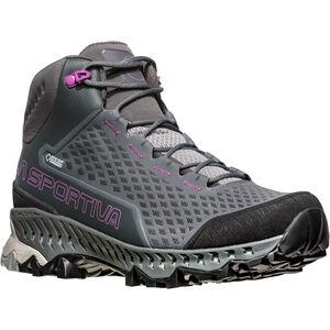 La Sportiva Stream GTX Surround Shoes Damen carbon/purple carbon/purple