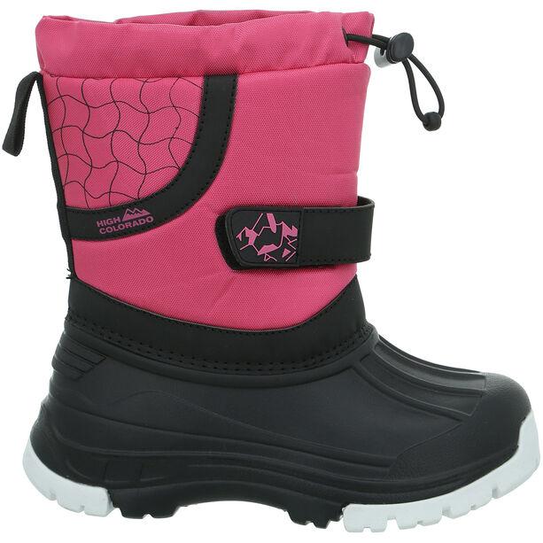 High Colorado Snowy II Schuhe Kinder pink-black