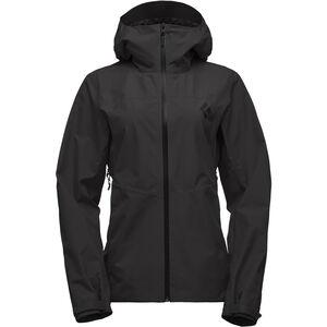 Black Diamond Liquid Point Shell Jacket Damen black black
