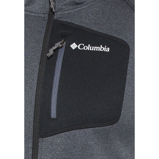 Columbia Jackson Creek II Hoodie Herren Black Heather
