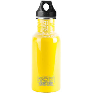 360° degrees Stainless Drink Bottle 550ml yellow yellow