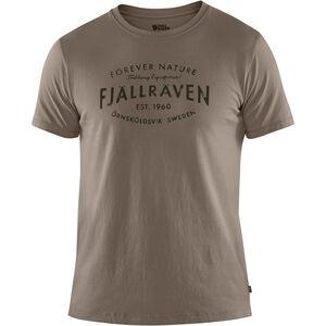 Fjällräven Est. 1960 T-Shirt Herren driftwood driftwood