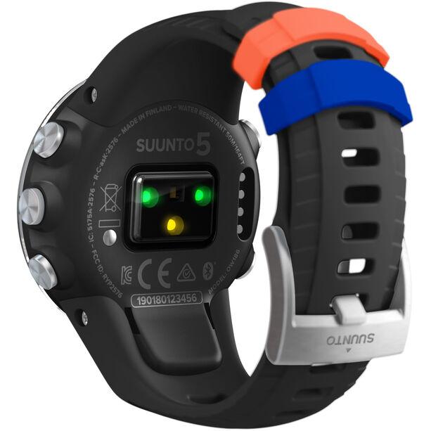Suunto Suunto 5 Multisport GPS Watch black steel