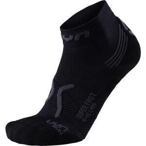 UYN Run Super Fast Socks Damen black/anthracite black/anthracite