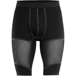 Aclima WoolNet Long Shorts Herren jet black jet black