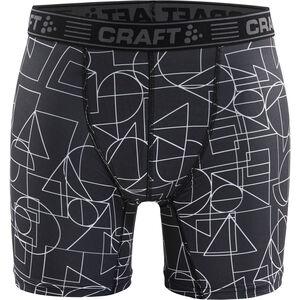 "Craft Greatness 6"" Boxers Herren black/asphalt black/asphalt"