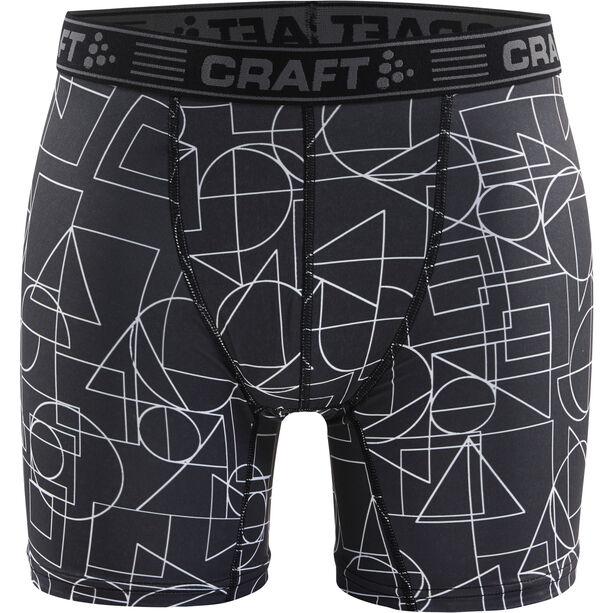 """Craft Greatness 6"""" Boxers Herren black/asphalt"""
