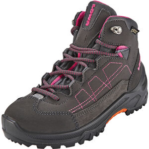Lowa Approach GTX Mid Shoes Kinder anthracite/berry anthracite/berry