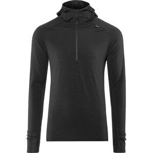 inov-8 Merino LS Zip Langarmshirt Herren black black