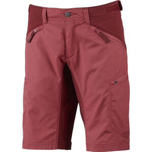 Lundhags Makke Shorts Damen garnet/dark red garnet/dark red