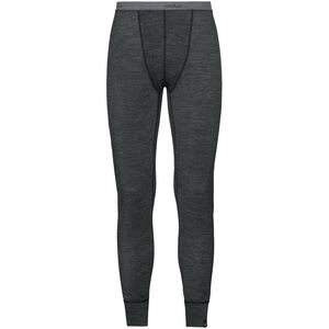 Odlo Natural + Warm Suw Bottom Pants Men black melange black melange
