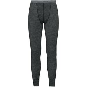 Odlo Natural + Warm Suw Lange Unterhose Herren black melange black melange