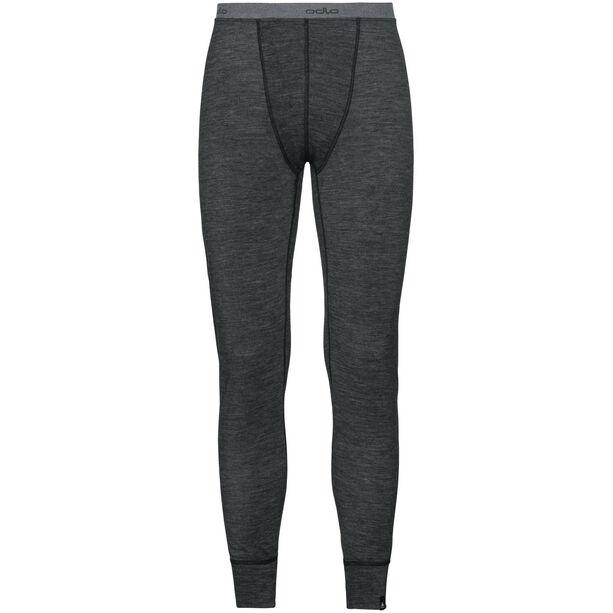 Odlo Natural + Warm Suw Lange Unterhose Herren black melange