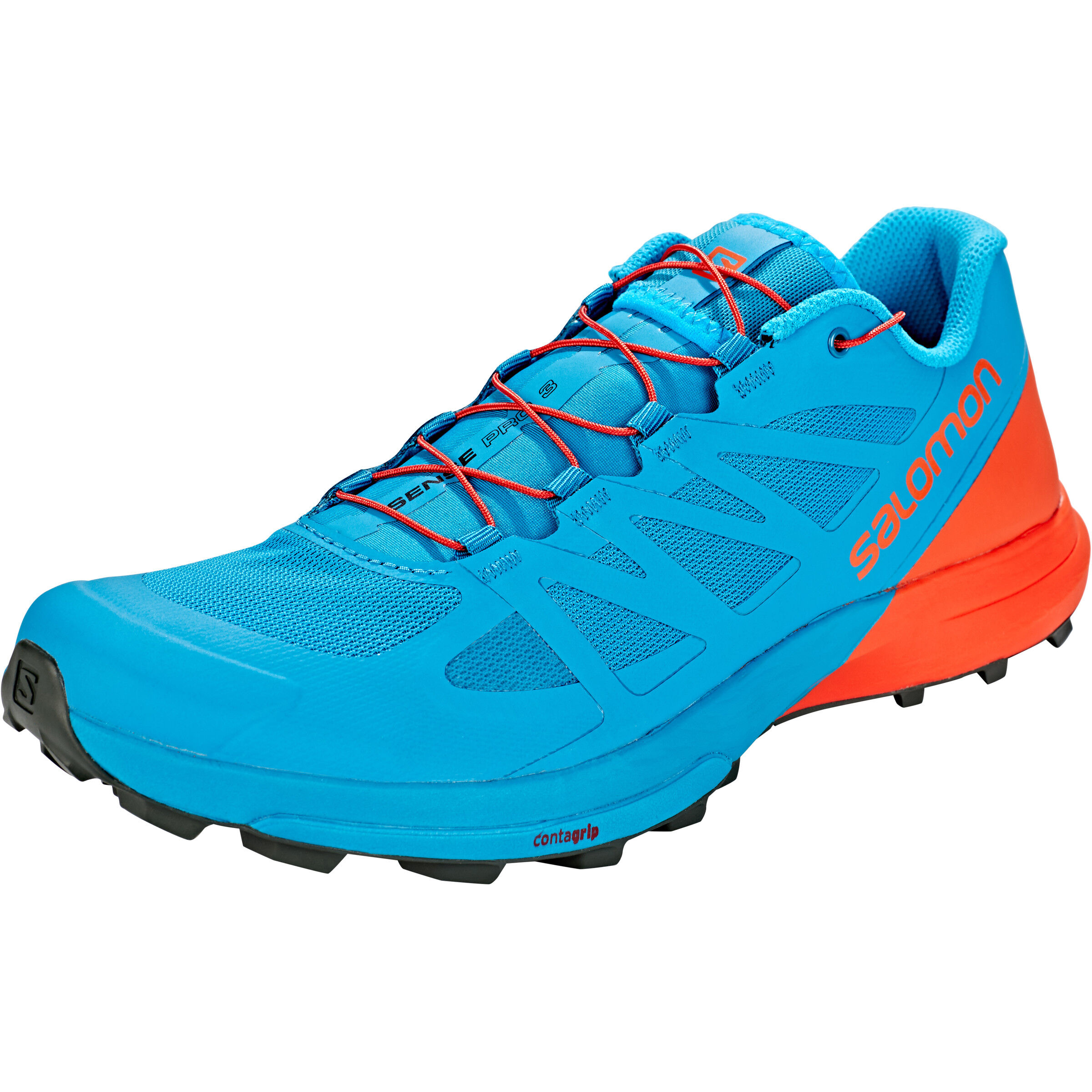 Salomon Sense Pro 3 Shoes Herren fjord bluecherry tomatourban chic