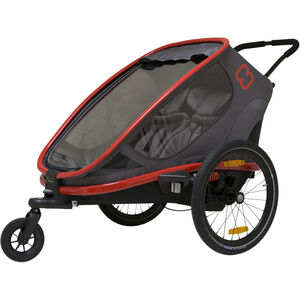 Hamax Outback Bike Trailer red/charcoal red/charcoal